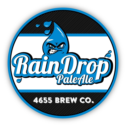 Rain Drop Pale Ale by 4655 Brewing Company