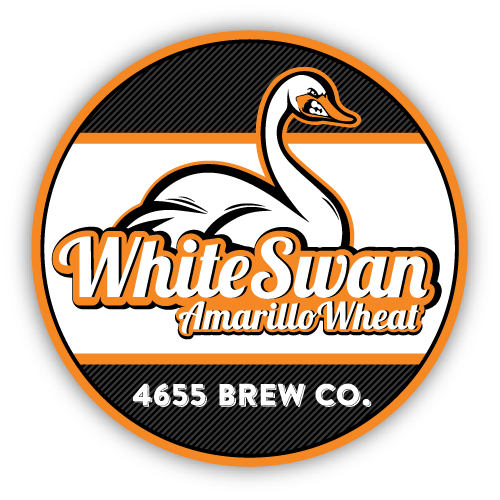 White Swan Amarillo Wheat by 4655 Brewing Company