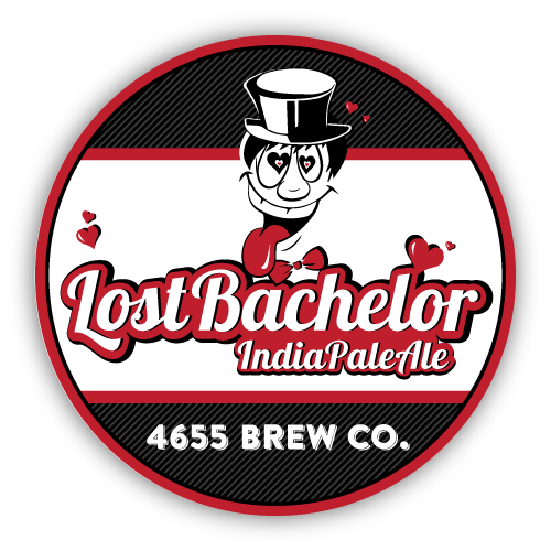 Lost Bachelor IPA by 4655 Brewing Company