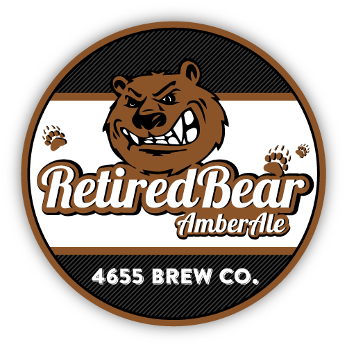 Retired Bear Amber Ale by 4655 Brewing Company