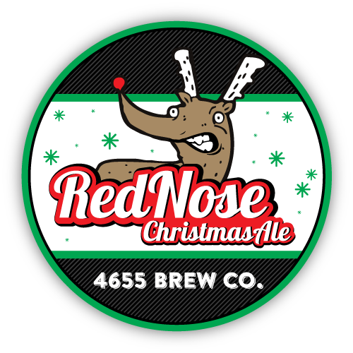 Red Nose Christmas Ale by 4655 Brewing Company