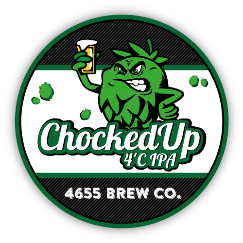 Chocked Up 4'C IPA by 4655 Brewing Company