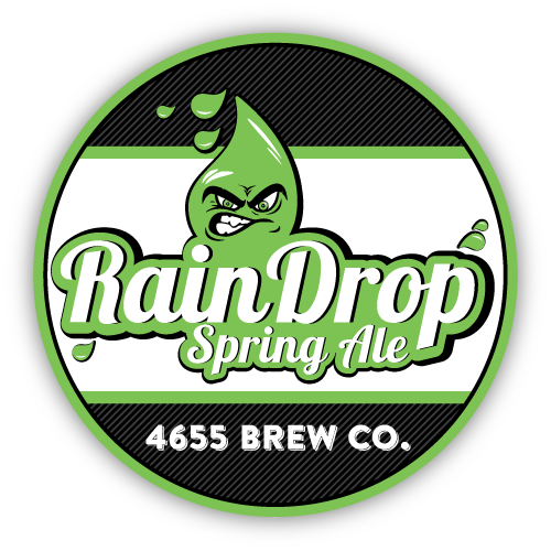 Raindrop Spring Ale by 4655 Brewing Company