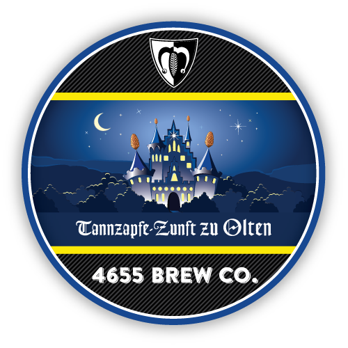 Tannzapfe Zunft zu Olten Pale Ale by 4655 Brewing Company