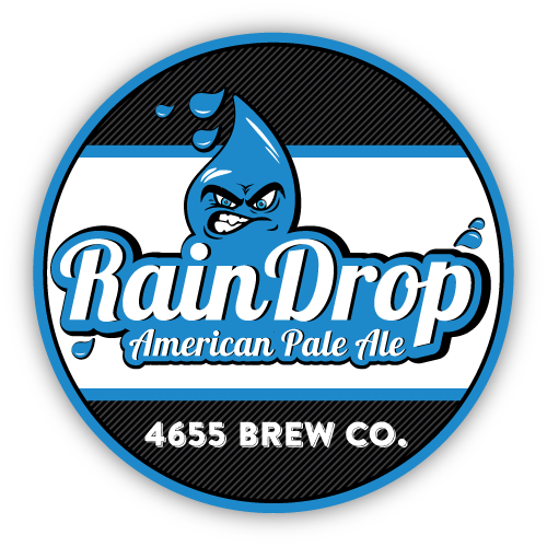 Rain Drop American Pale Ale by 4655 Brewing Company